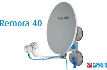 * Maxview Remora 40 Suction Mount Portable Satellite TV Kit